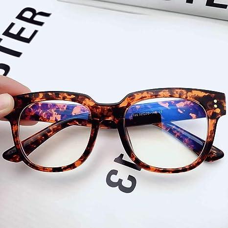 Yangjing-hl Corea Retro Gafas Transparentes m Anti-Nieve ...