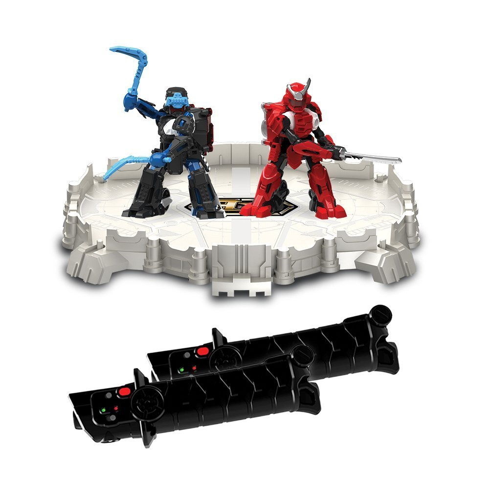 TOMY Battroborg Warrior Battling Robot Arena: Samurai VS Ninja