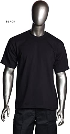 Shaka Mens Pack of 6 Super Max Heavy Cotton T-Shirt XLarge