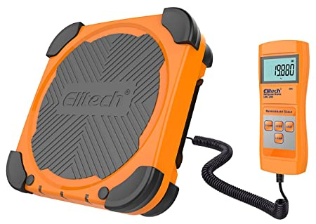 Amazon.com: Elitech LMC-200 Refrigerant HVAC Electronic Charging Weight Recovery Scale with Wired Remote, Overweight Protection 220 lbs/100 kg: Automotive