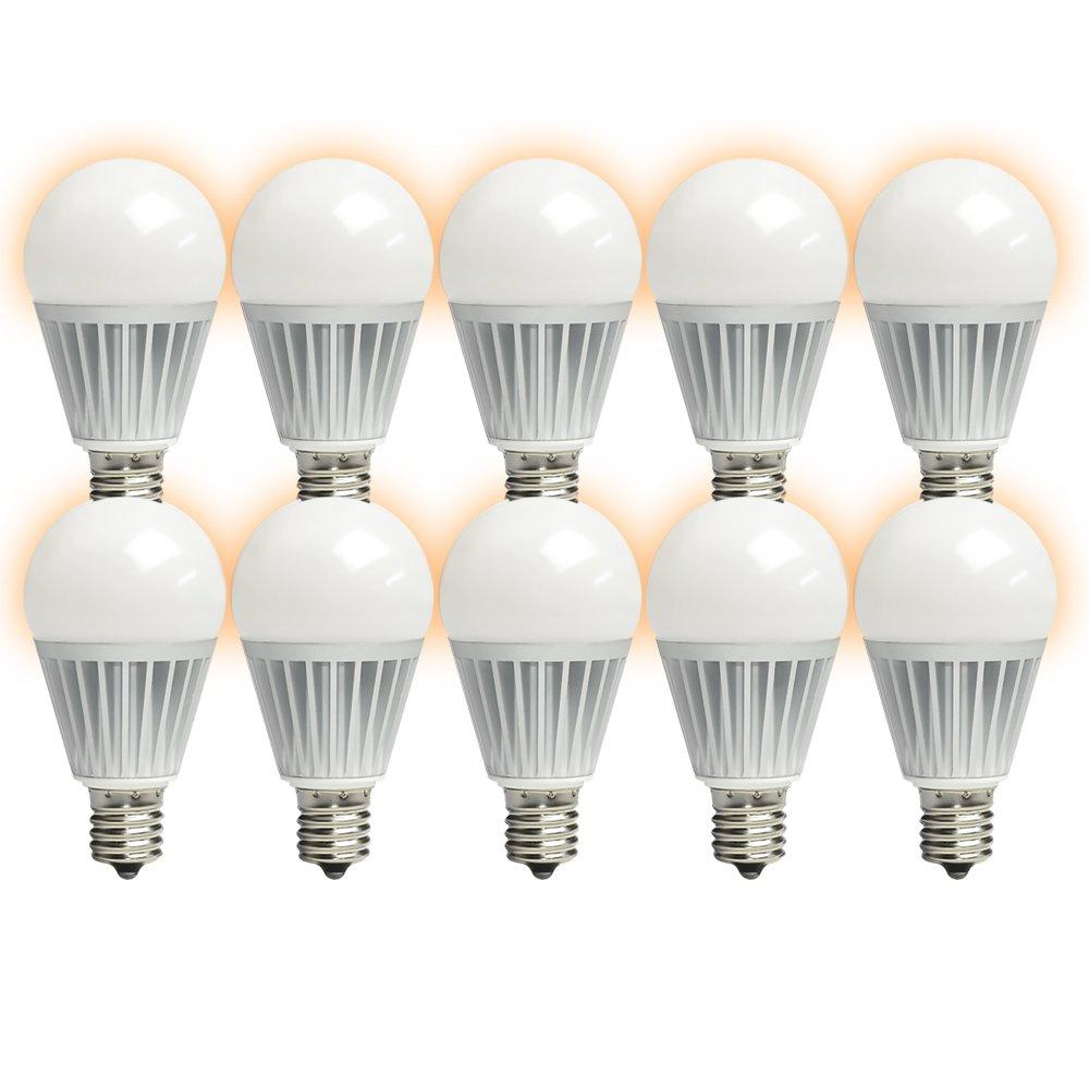 10個セット LED電球 E17 ミニクリプトン 100W 相当 電球色 調光器対応 LB9917D-II--10 (c.10個セット 濃い電球色 (LB9917HD-II--10))  c.10個セット 濃い電球色 (LB9917HD-II--10) B01M099THJ