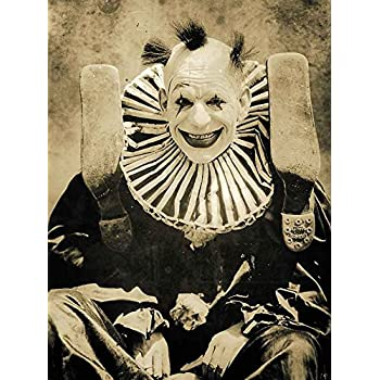 Amazon com: Gatsbe Exchange an 8x10 Photo Creepy Scary Clown