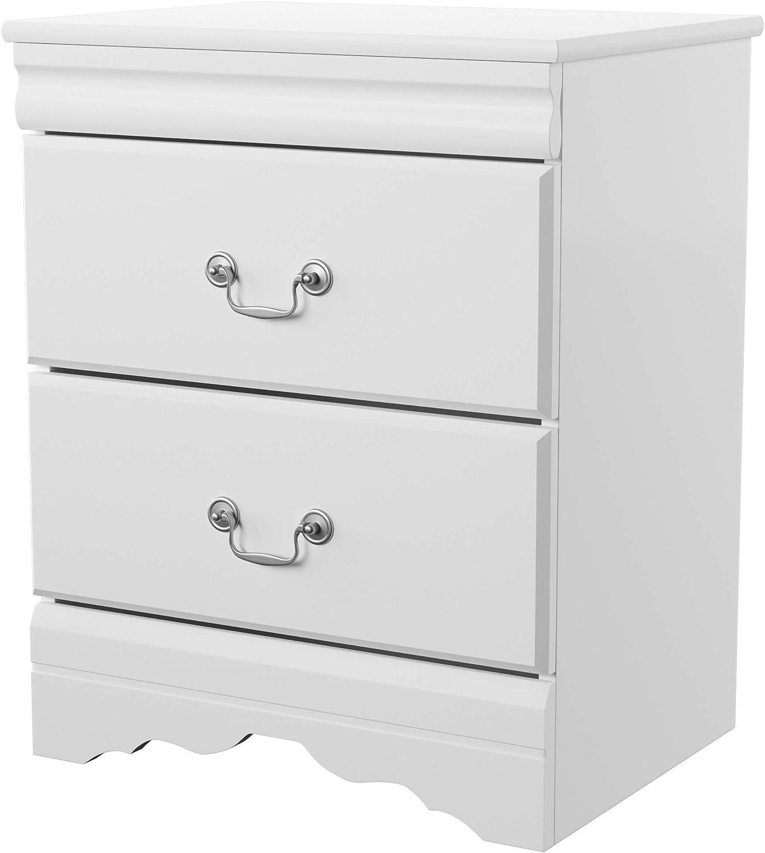 Ashley Furniture Signature Design – Anarasia Nightstand – White