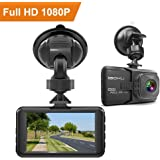 "iGOKU Dash Cam 1080P Full HD 1920x1080, 170° Wide Angle, 3.0"" LCD Car Video Recorder Camera with Built-in G-Sensor, Night Vision, Loop Recording, Parking Monitoring, WDR, Vehicle Driving Recorder DVR"