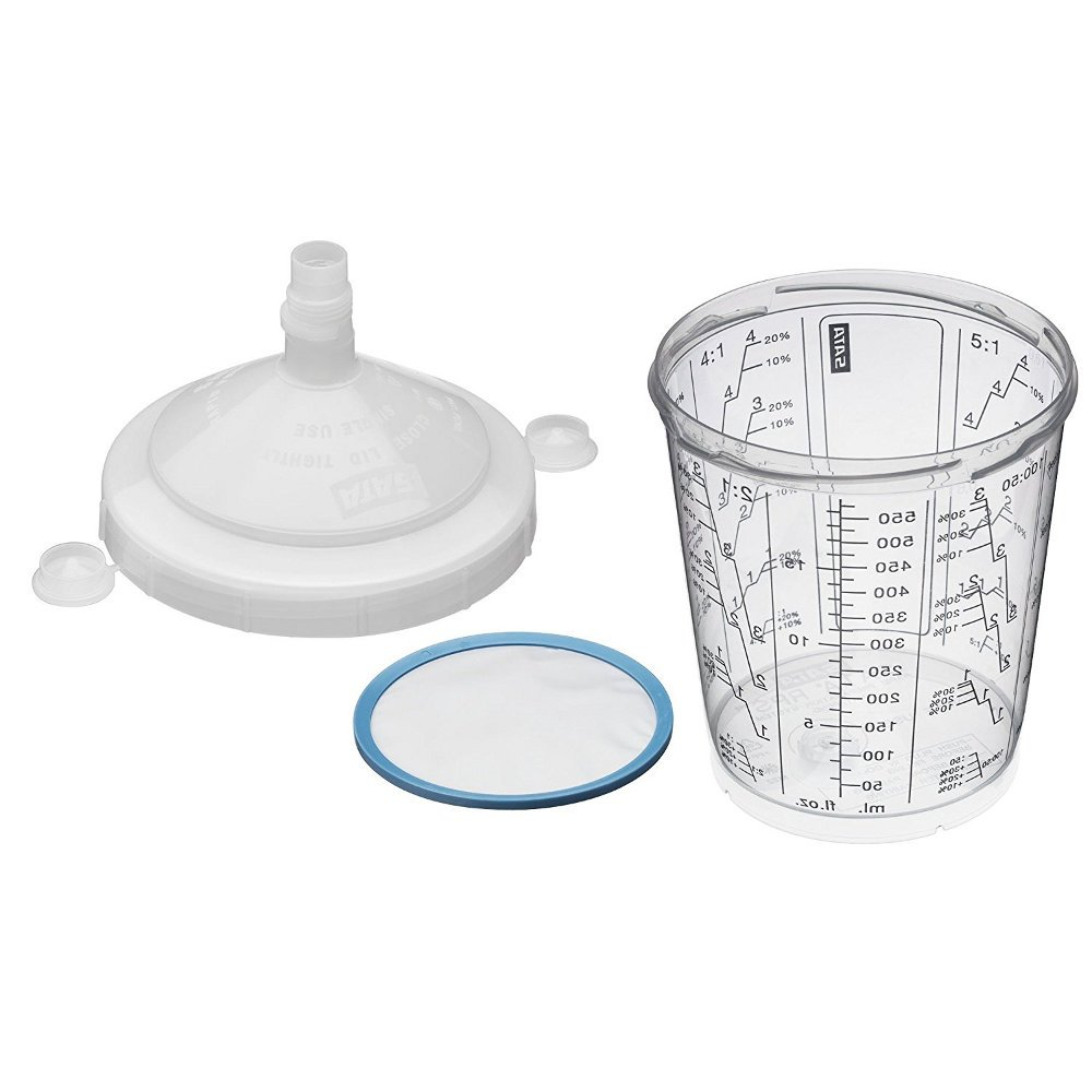 SATA –  System einwegmischbecher- RPS 0, 9 Liter. –  40 Stü ck [. Verschiedene]