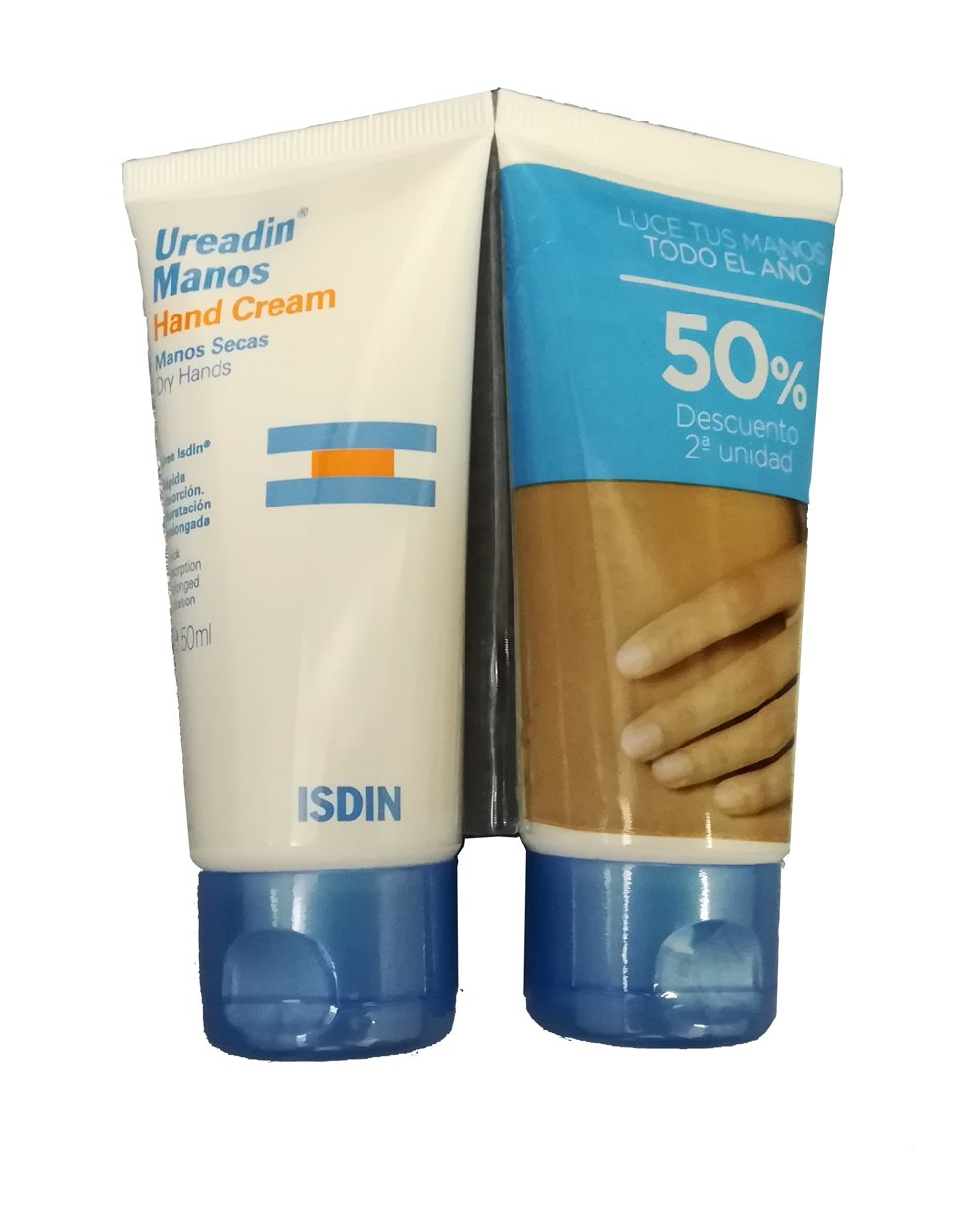 Ureadin duplo crema de manos 50ml+50ml ISDIN