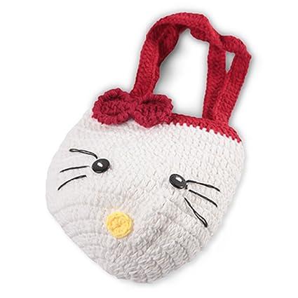 Amazon Baby Crochet Handmade Handbag Wrist Pocket Bag Purse