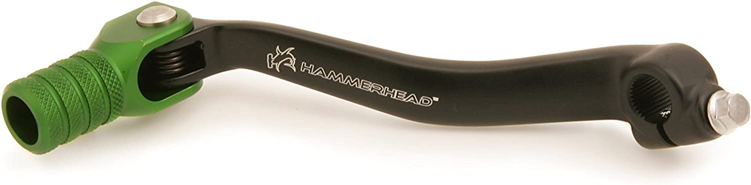 2009-Current Hammerhead Premium Forged Shift Lever - 11-0346 - compatible with Kawasaki KX250F Offset tip options