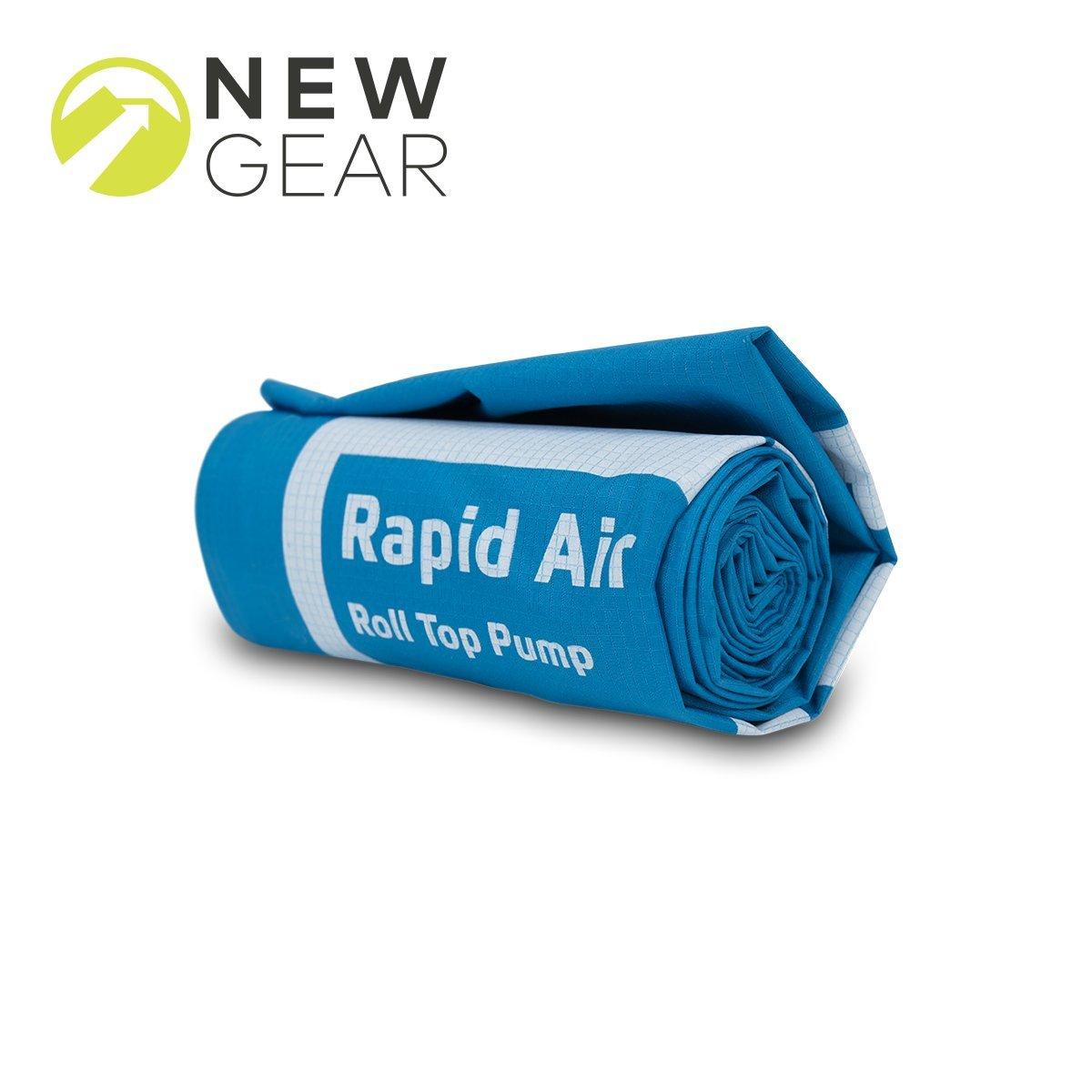 NEW Klymit Rapid Roll-Top Air Pump Green 06RAGRCNC
