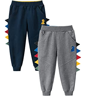 Cqelng Oii Life is Full of Important Choices 2-6T Boys Active Joggers Soft Pant