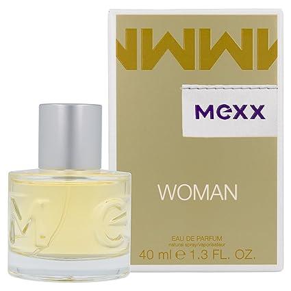 Mexx Woman – Eau de Parfum Natural Spray – Blumig-frisches Damen Parfüm mit Zitrone, Rose und Jasmin – 1 er Pack (1 x 40ml)