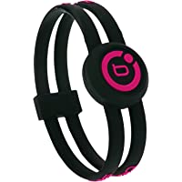 Bioflow Sport Twin Wristband Black/Pink (S 17.5cm)