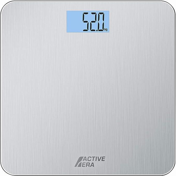 Active Era™ Báscula de Baño Digital Ultrafina con Sensores de Alta ...