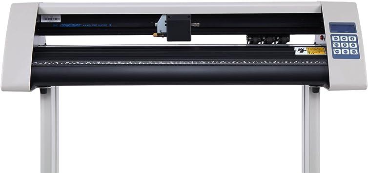 Yonntech 28 Inch Cortador de Vinilo LCD USB Plóter de Corte con escáner Vinilo de Corte Vinilo gráfico Car Wrap Cutting Tool Aplicación (Maquina de Cortar): Amazon.es: Electrónica