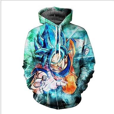 New Men Dragon Ball Z Hoodie Jacket Super Saiyan Ultra