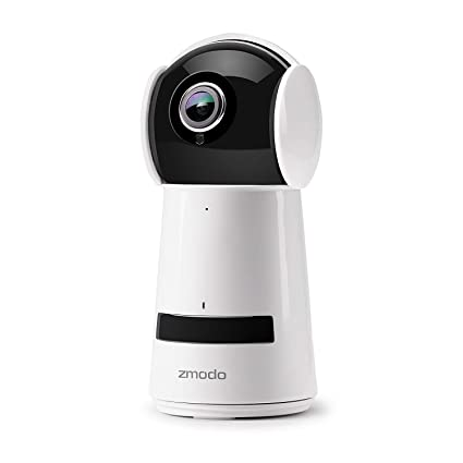 Zmodo 1080P Full HD Cámara De Vigilancia, IP WiFi Cámara Indoor/Interior Sin Cable