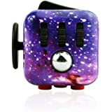 Gogopa Fidget Cube Toy for Relieves Stress & Anxiety (Sky, standard)