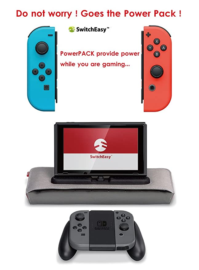 Nintendo Switch Cargador Caso, SwitchEasy Powerpack Serie ...