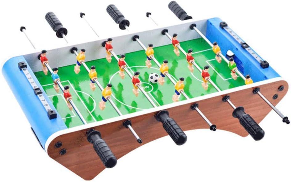 JWDYA Juego de futbolín de Mesa, for niños Adultos, 6 Polos ...