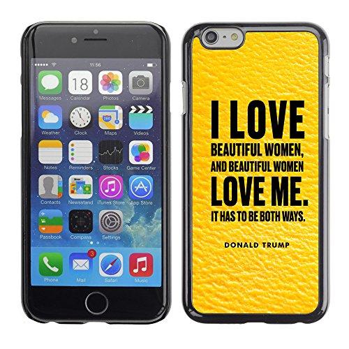 "Print Motif Coque de protection Case Cover // Q04040540 Donald Trump mango // Apple iPhone 6 6S 6G 4.7"""