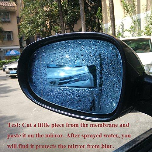 Binsheo Car Side Mirror Rainproof Glass Film Anti Water