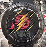 The Flash Justice League Flashing Kids Watch with