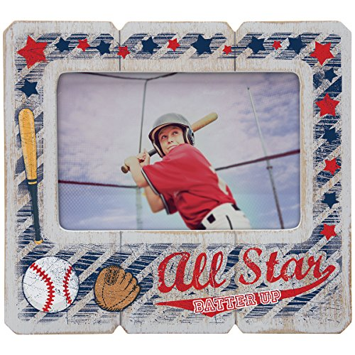 baseball picture frame 5x7 - 5