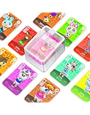 24 Pcs ACNH NFC Tag Game Cards for New Horizons with Crystal Case Switch / lite