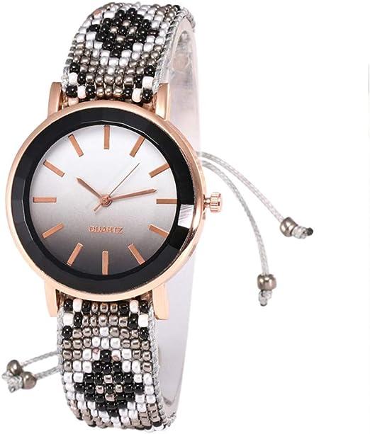 Moda 2019 Reloj de Cuarzo para Mujer de Cristal de Gama Alta con ...