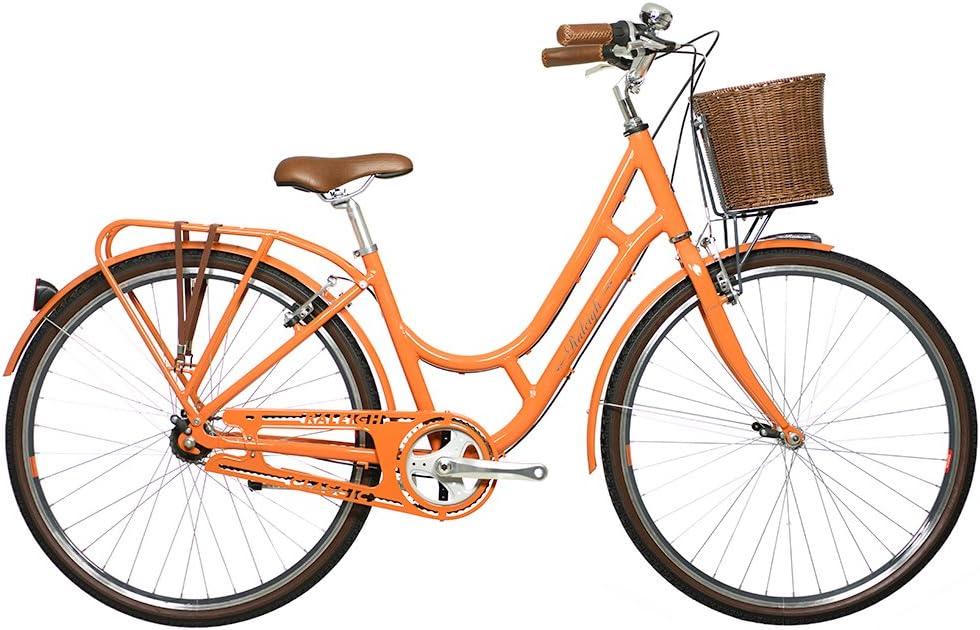 Raleigh Spirit - Bicicleta híbrida, Color Naranja, Talla 19-Inch ...