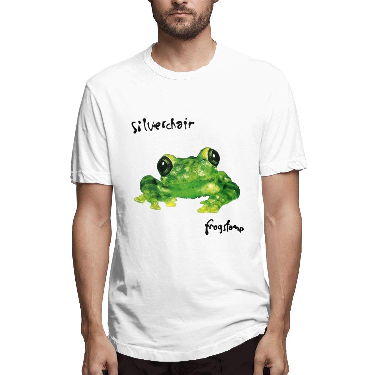 Seuriamin Silverchair Frogstomp Frog Stomp Casual Running Short Sleeve T Shirts