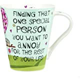 The Good Life Fine China Finding That One Special Person Mug, Multi-Colour