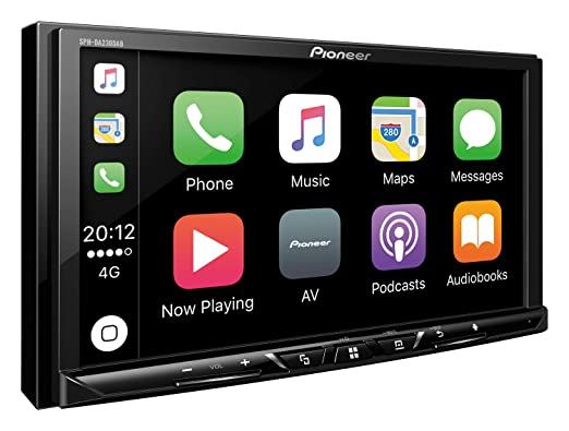 Pioneer SPH-DA230DAB Receptor Multimedia para Coche Negro Bluetooth - Radio para Coche (Negro, 2 DIN, 3.0 Canales, 50 W, NTSC,PAL,SECAM, Android,iOS): ...