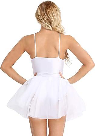 Agoky Mujer Adultas Vestido de Ballet Disfraz de Princesa Lago de ...