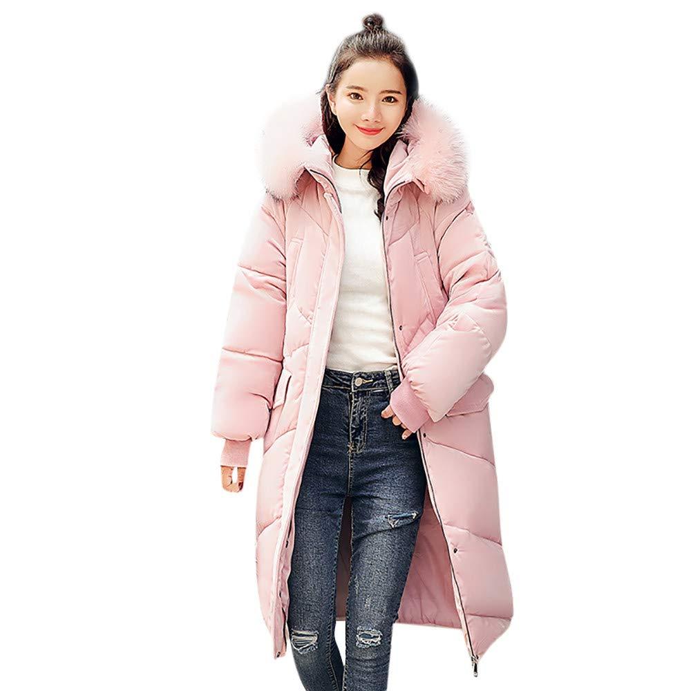 信頼 Seaintheson Women's Coats Coats Large OUTERWEAR レディース B07JCQJ1XQ B07JCQJ1XQ Large ピンク ピンク Large, インポートショップeウエアハウス:dab48e3b --- beyonddefeat.com