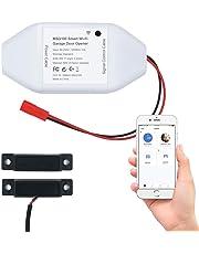 meross Smart Wi-Fi Garage Door Opener, APP Control, Compatible with Alexa, Google Assistant and IFTTT, No Hub Needed - MSG100