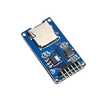 junta de almacenamiento Mciro SD TF Card Memory Shield Module SPI Micro SD para Arduino