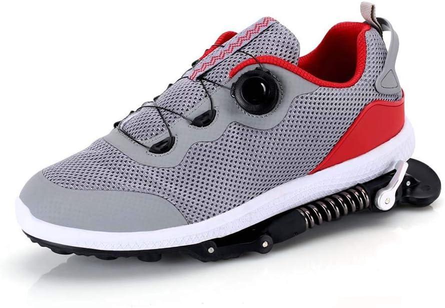 Zapatillas De Primavera Antideslizantes Mecánicas Maratón Amortiguadoras Botas De Running Resistentes Al Desgaste para Caminar Gimnasio Tennis Actividades Al Aire Libre: Amazon.es: Deportes y aire libre