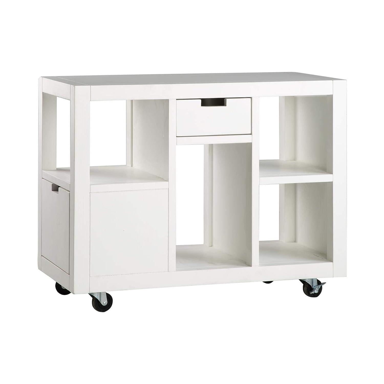 BANAK evoiss - Mueble de Esquina con Ruedas - Madera - 75 x ...