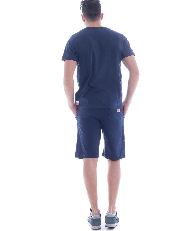 S Le/ón 1947/Apparel Sport Fight Activewear lsm1361 Sport Fight Activewear LSM1361 Hombre Turquesa Completo Camiseta y Bermuda para Hombre