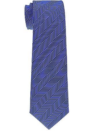 Corbata tejida a rayas de espiga de niño - 8-10 años - Varios ...