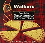 Walkers Shortbread Petticoat Tails, 5.3-Ounce Boxes (Pack of 6)