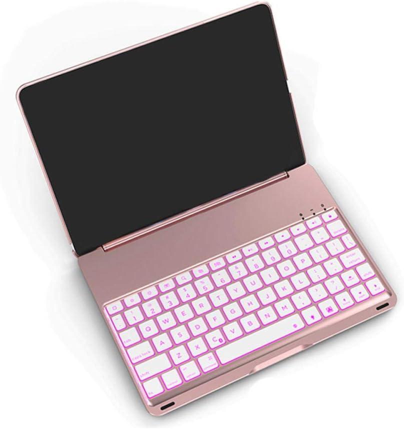 Silver -Rose Gold ZHEN LI Tablet PC External Bluetooth Keyboard for Pro11 Metal Backlit