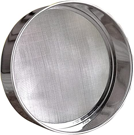 Top Mesh Stainless Steel Flour Baking Cake Kitchen Sifting Sifter Sieve Strainer