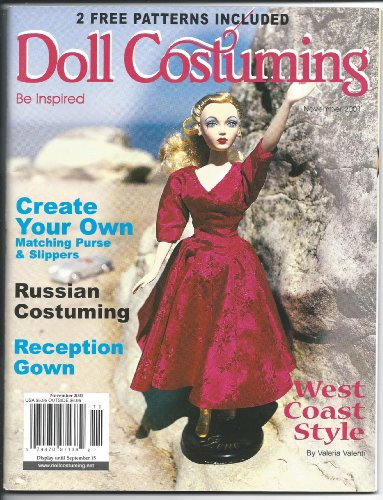 Doll Costuming Magazine - Doll Costuming Magazine, November 2001 issue