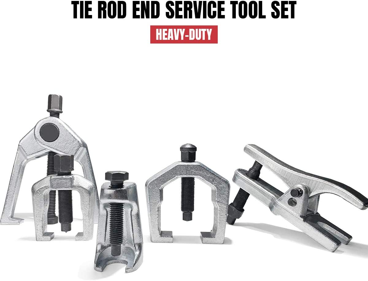 Thorstone Tie Rod End Puller-Remover Tool,5pcs Ball Joint Removal//Separator Tool Kit