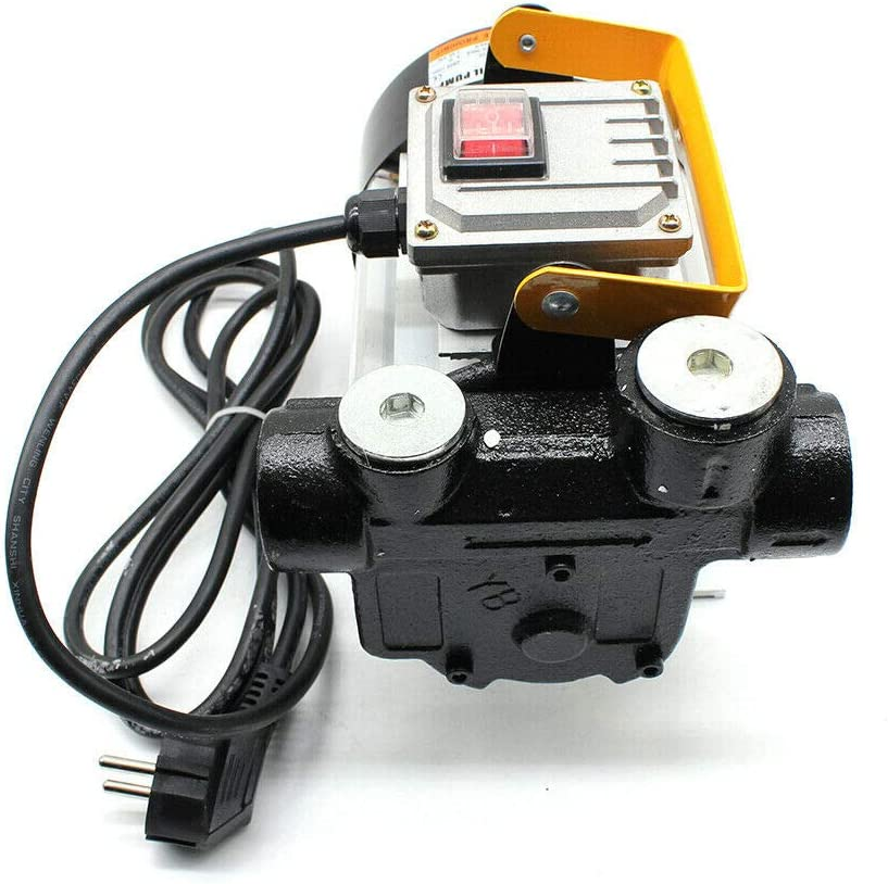 Pompe /à Carburant Pompe de Transfert de Carburant Pompe diesel 60L // min Pompe /à Carburant Auto-amor/çante