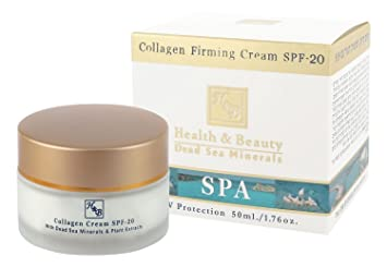 H&B Dead Sea Collagen firming cream SPF-20