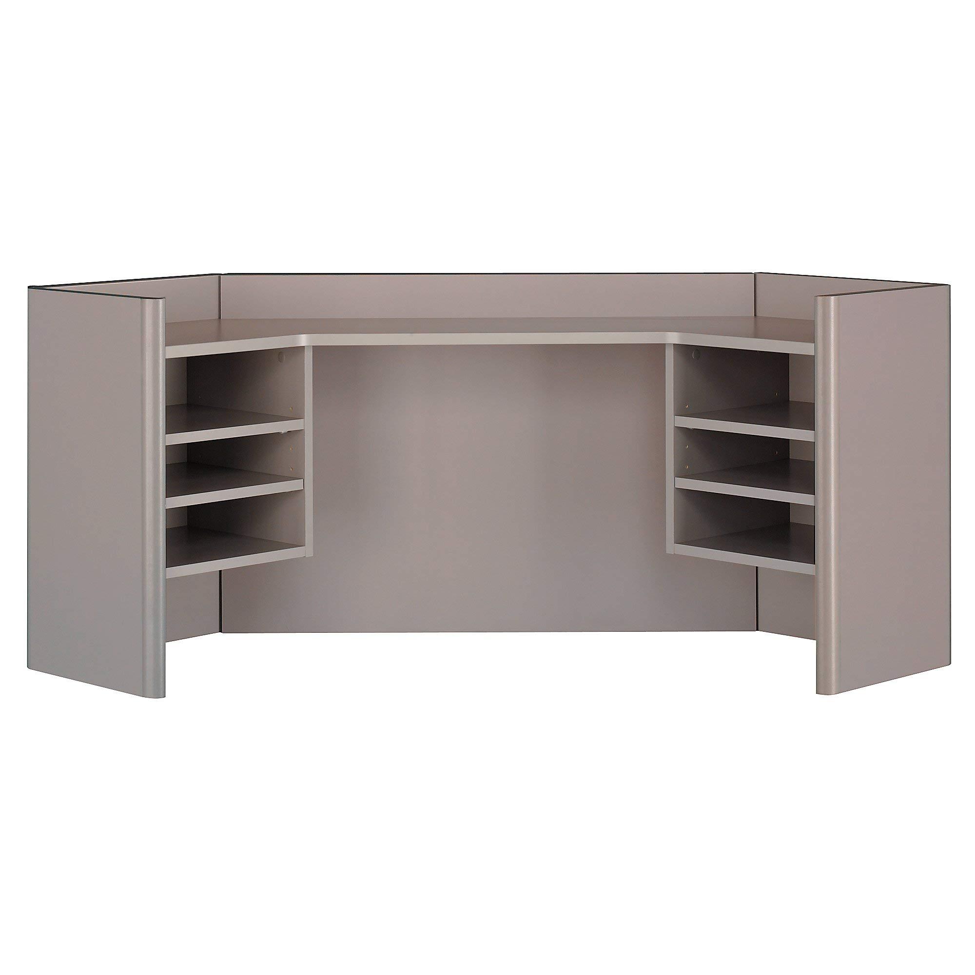 Bush Business Furniture Series A Collection 42W Corner Hutch in White Spectrum