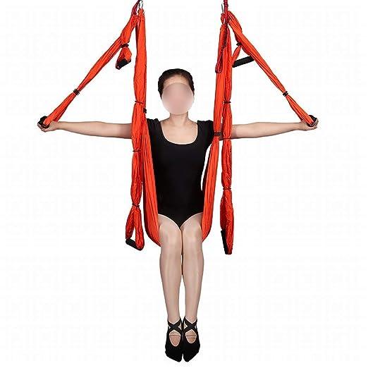 Ofliery Gravedad aérea Yoga Hamaca Paracaídas Hamaca de Tela ...